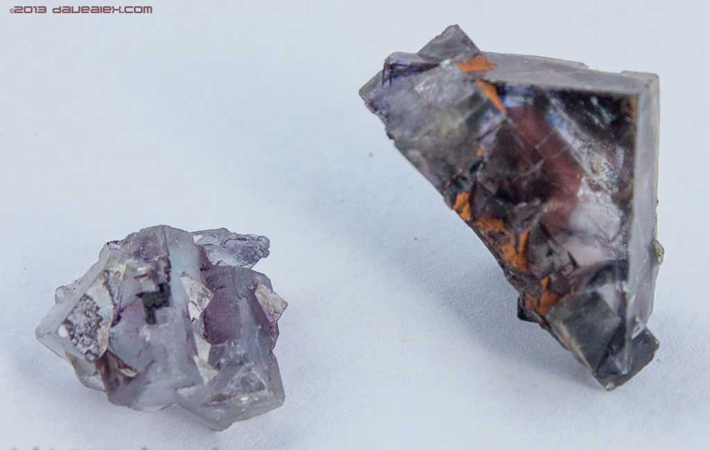 Fluorite Crystals I find looking through tailings